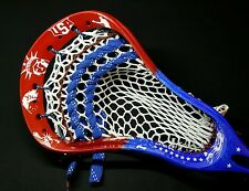 warrior usa dyed lacrosse head
