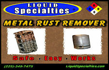 Liquid Specialties Rust Remover 5 GALLONS EvapoRust Metal Rescue FREE SHIPPING