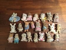 SYLVANIAN FAMILIES INFANT BABY TODDLER FIGURES BUNDLE JOB LOT