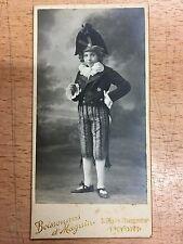 Carte de visite cdv BOISSONNAS & MAGNIN Lyon enfant garçon napoléon vers 1900