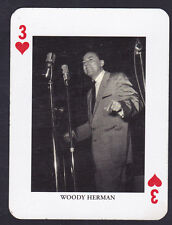 Woody Herman,Jazz Legends Single playing card
