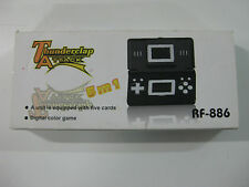 CONSOLA TIPO GAME & WATCH THUNDERCLAP ATTACK 5 EN 1-RF 886-DIGITAL COLOR-NEW!!