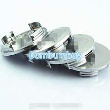 4pcs For Suzuki Aerio, Swift, SX4 Silver/Chrome Wheel Center Caps Set 2+1/8""