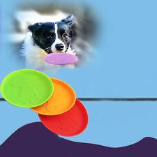 1PC dog frisbee fliegende scheibe zahn - ein großer hund training holen