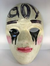 UK THE PURGE MOVIE FANCY DRESS UP MASK ADULT ANARCHY ELECTION YEAR COSTUME 1 2 3