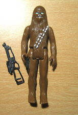 Vintage Star Wars Poch Black Pouch Chewbacca Figure