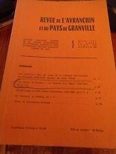 Revue de l'Avranchin et du Pays de Granville N° 290 1977 / Normandie