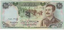"""SADDAM HUSSAIN"" OLD IRAQI 25 DINARS BANK NOTE IN EXCELLENT CONDITION. RARE....."