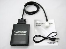 New Yatour Music Changer USB CD AUX Interface 3.5mm audio For Toyota Car Auto
