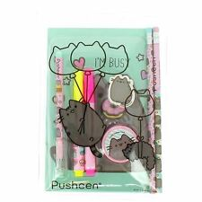 Official Pusheen the Cat Super Stationery Set - Fun School Stationery
