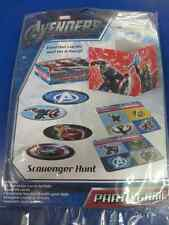 Avengers Assemble Marvel Comics Superhero Birthday Party Scavenger Hunt Game