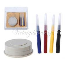 Plastic Oil Cup +4 Pins Loading Of Oiler Disc Watchmaker Watch Repair Tool