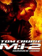 POSTER MISSION IMPOSSIBLE 2 3 4 JOHN WOO TOM CRUISE LOCANDINA I II III FOTO #6