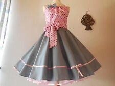 ~~Niedliches Kleid ~~zum-Petticoat 50er Jahre Rockabilly Abiball Gr. 36 - 42