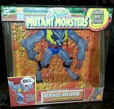 ToyBiz X-Men Mutant Monsters WEREWOLF WOLVERINE Action Figure NEW MINT IN BOX