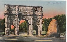 BF17444 arco di constantino  roma italy front/back image