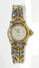 TAG HEUER Ladies Watch, in Stainless & Goldtone White Face