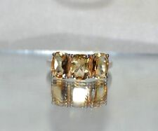 2.15ct  GENUINE BRAZILIAN NATURAL CITRINE .925 STERLING SILVER  RING