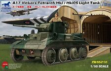 BRONCO CB35210 1/35 A17 Vickers Tetrarch Mk.I/Mk.ICS Light Tank