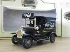 Lledo Promotional  LP6305, Model T Ford Van, Coca Cola in Black - USA issue