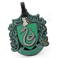 Harry Potter - Slytherin Crest Luggage Tag - New & Official Warner Bros