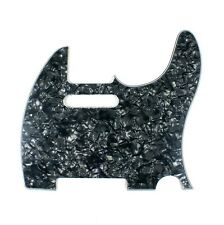 (G21) Custom Guitar Pickguard For Tele Style Guitar ,4ply Black Pearl