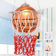 Children Creative Pendant Lamp Room Lighting Chandelier Basketball shade Light