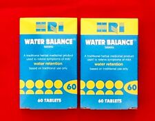 HRI Water Balance  60 tablets x 2 - Traditional used to relieve Water Retention