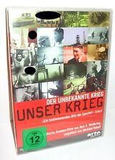 UNSER KRIEG Der unbekannte Krieg Dokumentation DVD ARTE EDITION Neu (WR9)