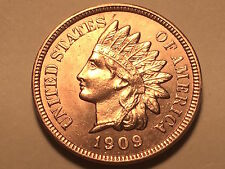 1909-S Indian Head Cent * Penny * Ch/Gem BU Red  #2 *