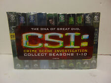 CSI: Crime Scene Investigation - Seasons 1-10 (DVD, 2010, 63-Disc Set) NEW