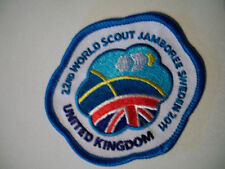 22nd World Scout Jamboree Sweden WSJ 2011 UK Contingent Badge