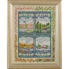 COUNTED CROSS STITCH Kit - Four Season Pictures - Bucilla