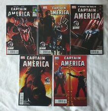 Captain America Vol.1 #611-615 | Ed Brubaker | MARVEL Comics (VFN)