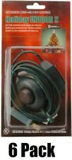 (6) ea 09493 9' ft Green Christmas Tree Foot Tap Extension Cords