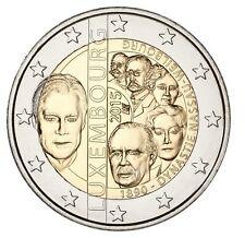 """2 euro 2015 Luxemburg  """"Dynastie"""" Commemorative - zo uit de rol!"""