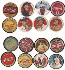COCA COLA POGS SERIES 1 OR  SERIES 2 SET *NEW* 1-8 POGS SLAMMER