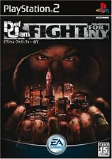 Used PS2 DEF JAM FIGHT FOR NY New York Import Japan