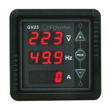 NEW 3 IN1 DIGITAL RED LED DISPLAY AC85~265 VOLTAGE FREQUENCY CURRENT PANEL METER