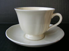 Wedgwood of Etruria & Barlaston Queens Shape Cup and Saucer Set - Multiple