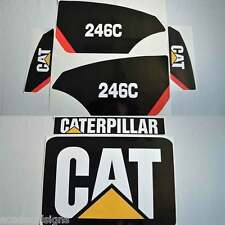 247C 246C 272C 289C 299C Stickers Kit Skid Steer loader, laminated, decal set
