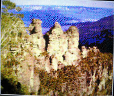 THE THREE SISTERS, NSW (AUSTRALIA) ~ NEW Counted Cross Stitch KIT #ML17