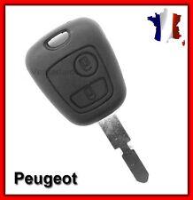 COQUE TELECOMMANDE PLIP PEUGEOT CLE 406/406 BREAK/406 COUPE/607/806 2 BOUTONS
