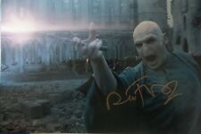 Ralph Fiennes Signed Voldemort Photo 12x18