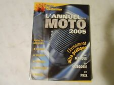 2005 L,ANNUEL MOTO ,MOTORCYCLE ANNUAL IN FRENCH,HARLEY,VESPA,YAMAHA,MOTOCROSS