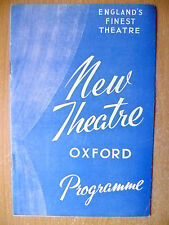 New Theatre Programme 1959- Jack Minster's NOTHING TO DECLARE by T Muschamp