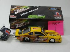 Racing Champions 2003 George Marnell Fast & The Furious NHRA 1:24 Pro Stock Car