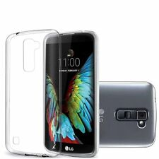 Ultra Thin Silicon Crystal Clear Back Skin Case Cover For LG K8 Phoenix 2 K350N