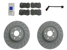 NEW Mercedes W221 S550 with AMG 07-13 Front Brake KIT GENUINE Rotors JURID Pads