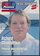 TELE PROGRAM 2000/24 (16/6/2000) RICHARD CHAMBERLAIN TRAVOLTA CHER STREEP
